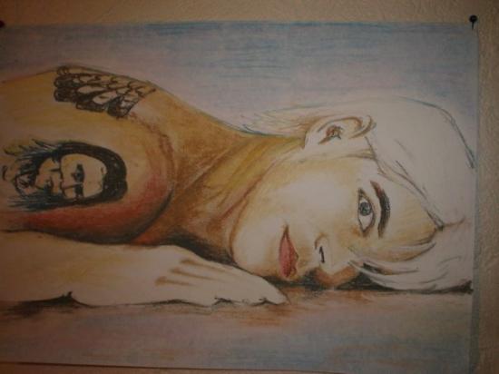 Anthony Kiedis by Khabarova